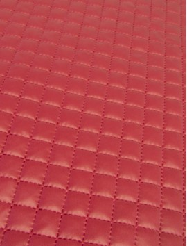 Guateado Plastificado Rojo