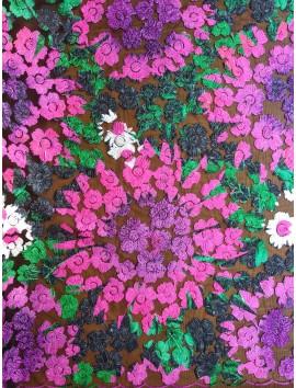 Tul Bordado floral
