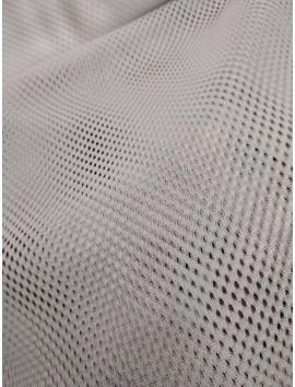 Tela de rejilla , red mesh, blanco crudo