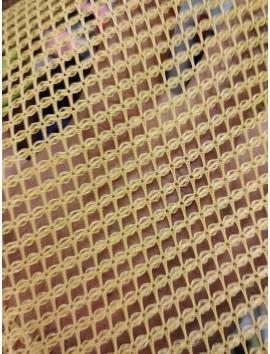 Tela de rejilla, red, amarillo mostaza