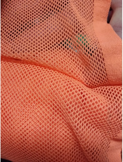 Tela de rejilla, red, naranja