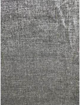 Lino lurex gris