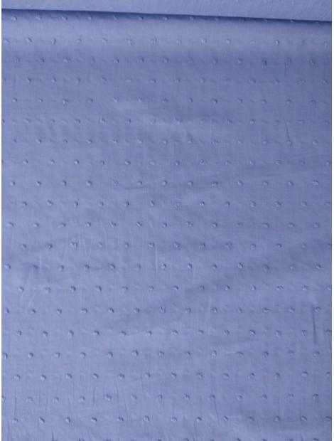 Plumeti de algodón lila