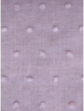 Plumeti de algodón rosa