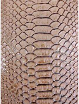 Polipiel beige cocodrilo