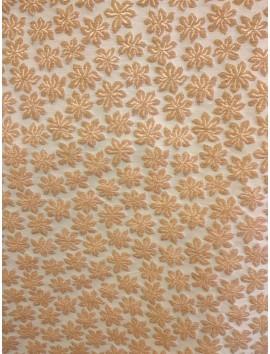 Brocado flor estrella arena