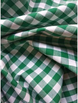 Vichy cuadros verdes