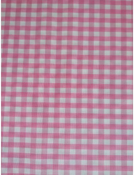 Vichy cuadros rosas