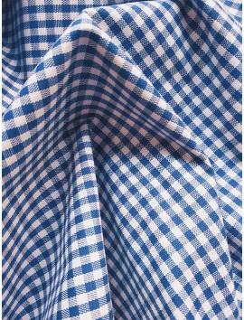 Vichy cuadros azules