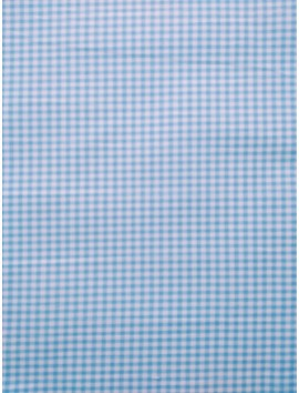Vichy cuadros azul celeste pequeños