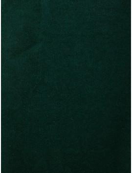Terciopelo de Algodón verde