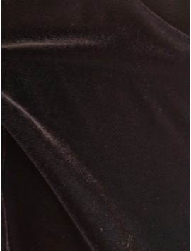 Terciopelo de Poliéster Negro