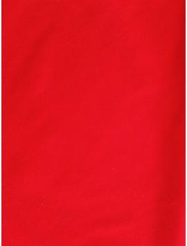 Terciopelo de Poliéster rojo