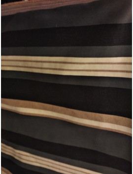 Terciopelo de tapiceria rayas