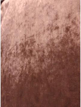 Terciopelo de tapiceria marrón claro