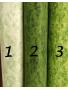Algodón Patchwork marmolado verde 2