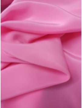 Crepé satén rosa (crespón)