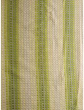 Brocado plateado lunares de blanco a verde