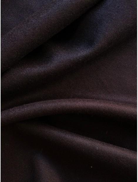 Franela de lana negra