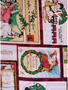 Popelín Navidad postales