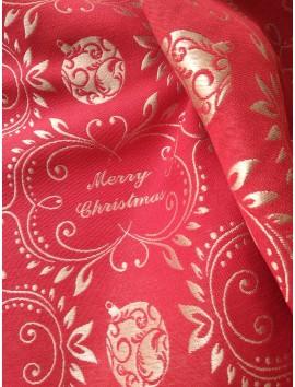 Mantel de Navidad rojo