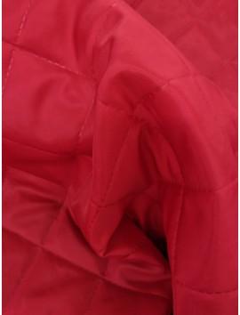 Acolchado (Guateado) rojo