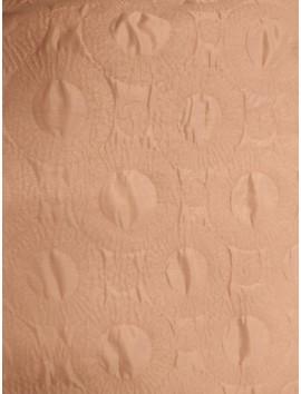 Acolchado (Guateado) rosa circulos