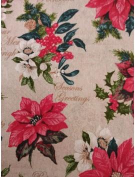 Loneta de Navidad , Poinsettia