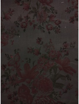Gabardina estampado floral