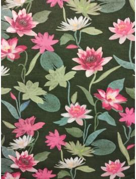 Gabardina floral