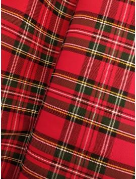 Cuadros Escoceses Rojos
