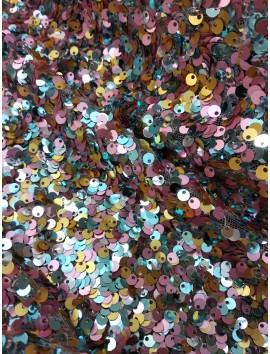 Lentejuelas de colores