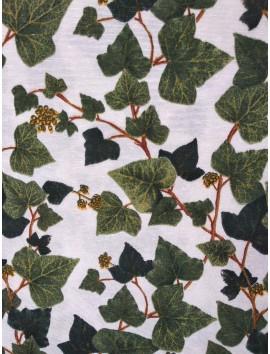 Loneta hojas de hiedra