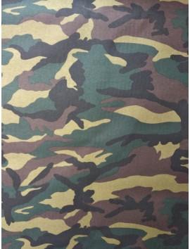 Loneta militar verdes