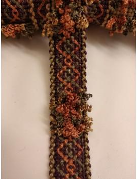 Pasamanería , Galón bordado  P14 - 2,5 cm