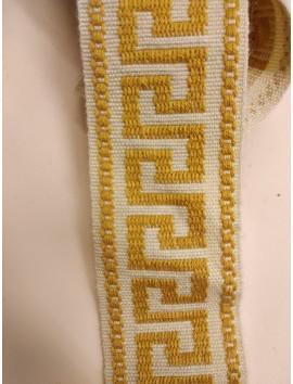 Pasamanería , Galón bordado P18 - 4 cm