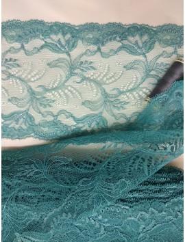 Cinta de encaje azul E4 - 12 cm