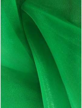 Gasa cristal,organza, verde