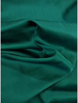 Satén piel de ángel verde esmeralda  c4