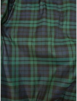 Mikado con cuadros verdes y azules