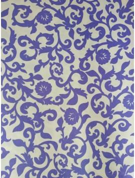 Loneta flor azul