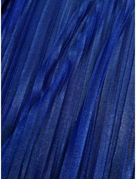 Plisado azul