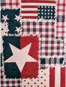 Gobelino banderas y estrellas USA