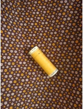 Algodón Liberty fondo marrón