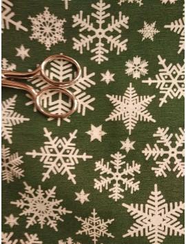tela de navidad mantel verde
