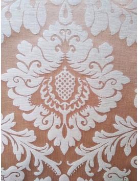 Mantel resinado damasco dorado