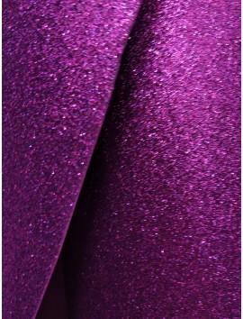 Goma eva glitter purpurina