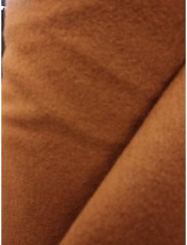 Tela de Paño  de lana marrón