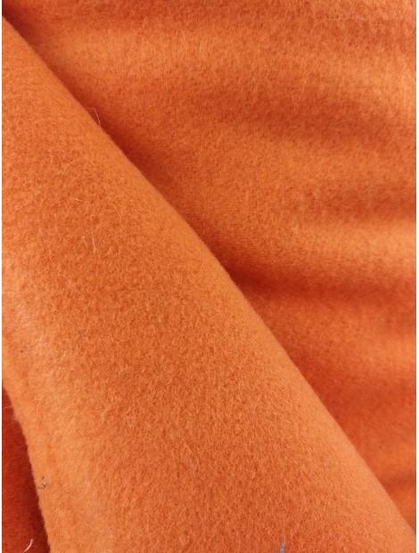 Tela de Paño  de lana zanahoria