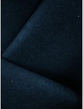 Tela de Paño  de lana azul marino